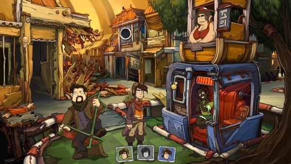Screenshot zu Goodbye Deponia - Screenshots