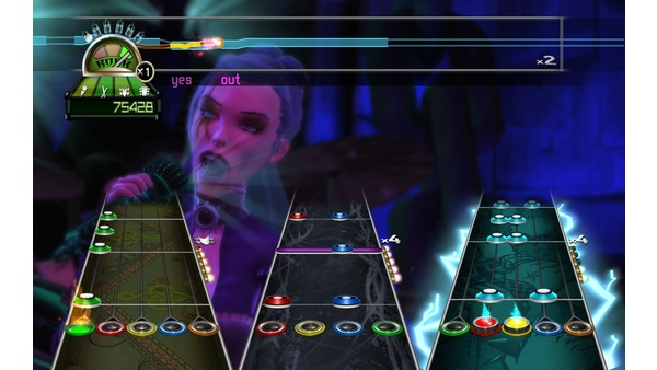 Screenshot zu Guitar Hero: World Tour - Screenshots