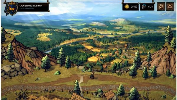 Screenshot zu Gwent: Thronebreaker - Screenshots aus der Einzelspieler-Kampagne