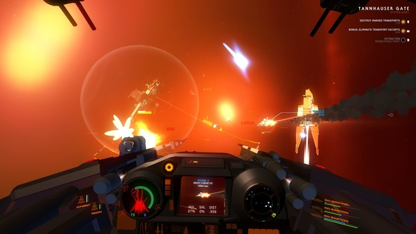 Screenshot zu House of the Dying Sun (ehemals Enemy Starfighter) - Screenshots