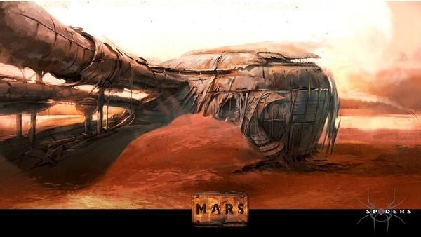 Screenshot zu Mars - Artworks und Konzeptzeichnungen