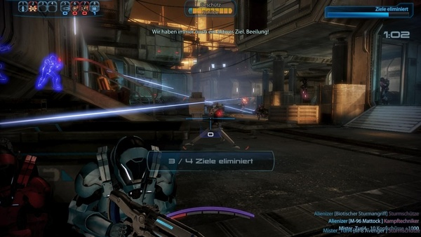 Screenshot zu Mass Effect 3 - Screenshots aus der Multiplayer-Demo (PC)