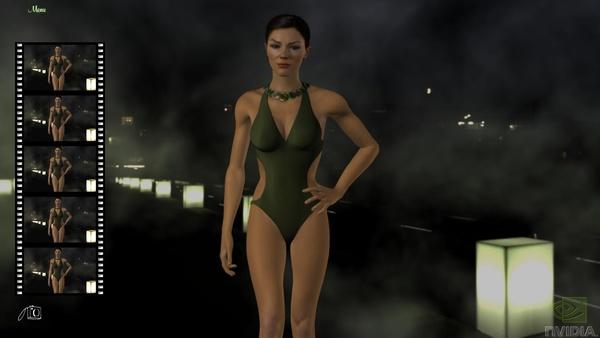 Bild der Galerie Nvidia-Demo Adrianne - Screenshots