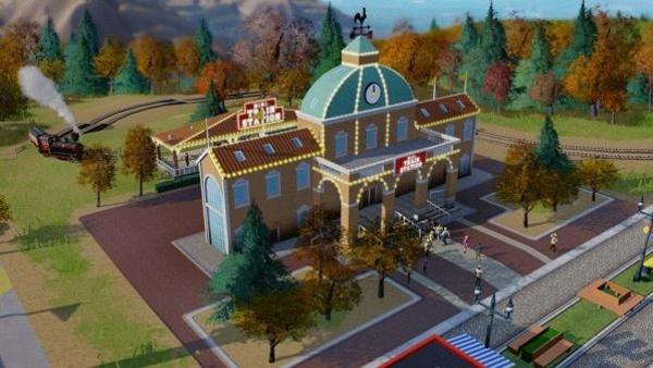 Screenshot zu SimCity - Screenshots aus dem Freizeitpark-DLC