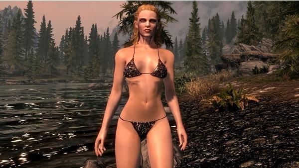 Bild der Galerie The Elder Scrolls 5: Skyrim - Bikini-Mods