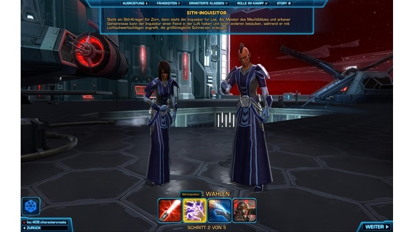 Screenshot zu Star Wars: The Old Republic - Screenshots aus dem Beta-Wochenende