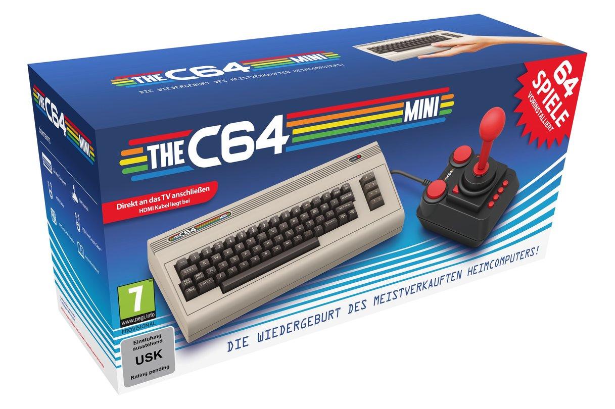 Legendärer C64 kommt als Mini-Retro-Version auf den Markt
