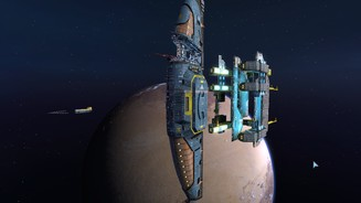 <b>Homeworld Remastered</b><br>Der Stapellauf des Mutterschiffs in der Remastered-Version des ersten Homeworld …