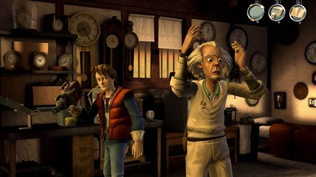 Back to the Future - Erste Screenshots aus dem Adventure