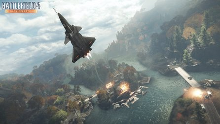 Battlefield 4 - Holiday-Patch demnächst, bringt Dragon Valley Karten-Remake