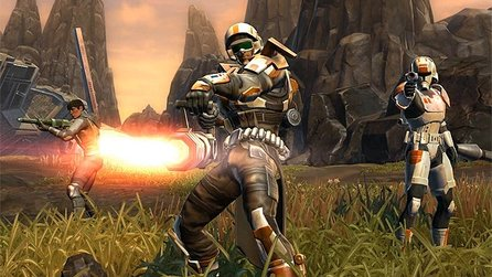 Star Wars: The Old Republic - Trailer zum Soldaten-Fortschritt