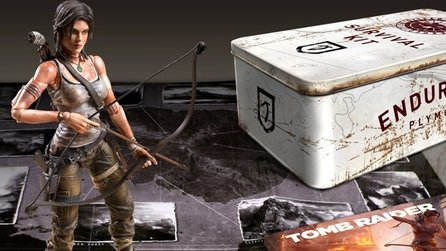 Tomb Raider - Boxenstopp zur Survival Edition & Survival Kit