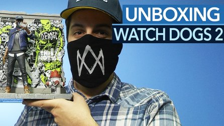 Watch Dogs 2 - Unboxing der San-Francisco & Return of DedSec-Edition