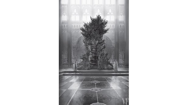 Game of Thrones - The Iron Throne (c) Marc Simonetti/Penguin Random House