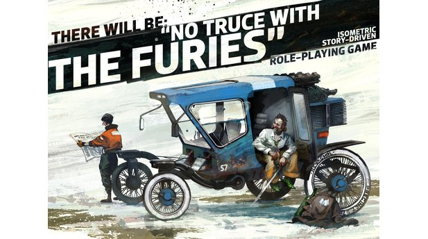No Truce With The Furies - Artworks