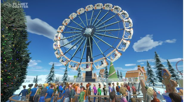 <b>Planet Coaster</b><br>Screenshots aus dem Winter-Update