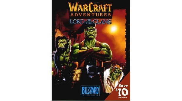 Warcraft Adventures - Geplanter Packshot