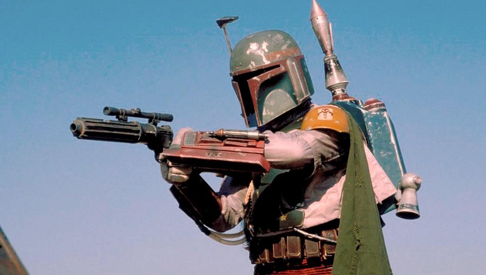 Vraiment, c'est le moment le plus élevé, que Boba Fatt dans le nouveau canon Star-Wars ait le temps pour le brillant.  Bildquelle: Disney / Lucasfilm