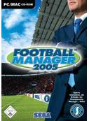 Cover zu Football Manager 2005