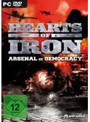Cover zu Hearts of Iron 2: Arsenal of Democracy