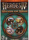 Cover zu Heroes of Might & Magic 4: Winds of War