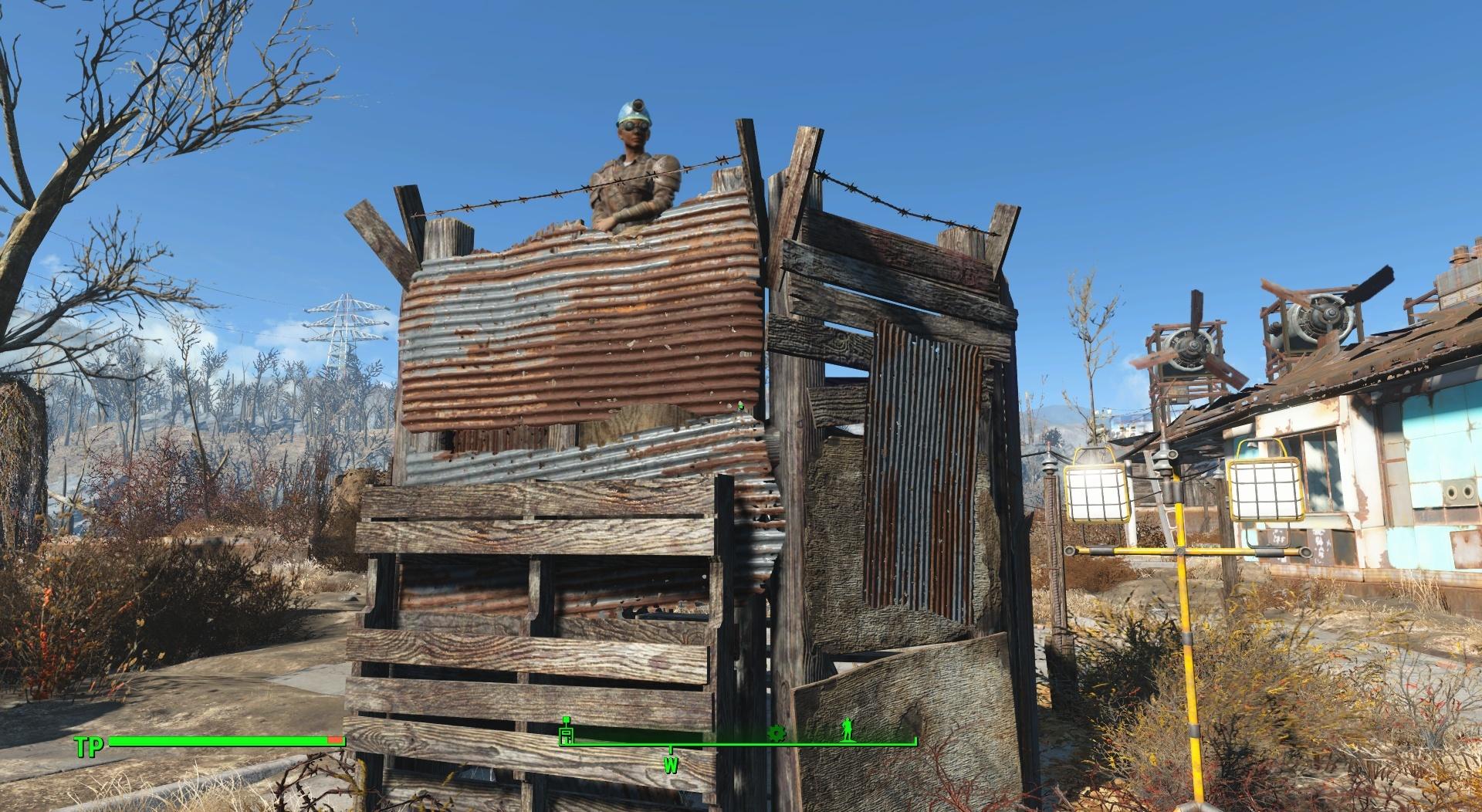Fallout 4 Siedlungsbau