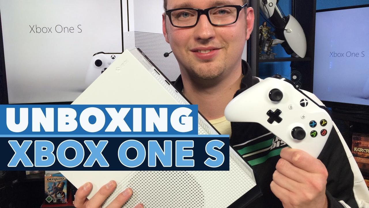 Boxing Games For Xbox One : Unboxing xbox one s wir packen die slim konsole aus