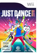Cover zu Just Dance 2018 - Wii