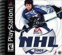 Cover zu NHL 2001 - PlayStation
