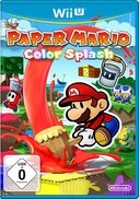 Cover zu Paper Mario: Color Splash - Wii U