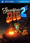 Cover zu Steamworld Dig 2 - PS Vita