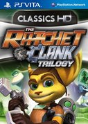 Cover zu The Ratchet & Clank Trilogy - PS Vita