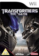 Cover zu Transformers: The Game - Wii