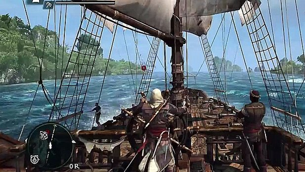 Assassin's Creed 4: Black Flag - 7 Minuten Open-World-Gameplay mit Seeschlacht