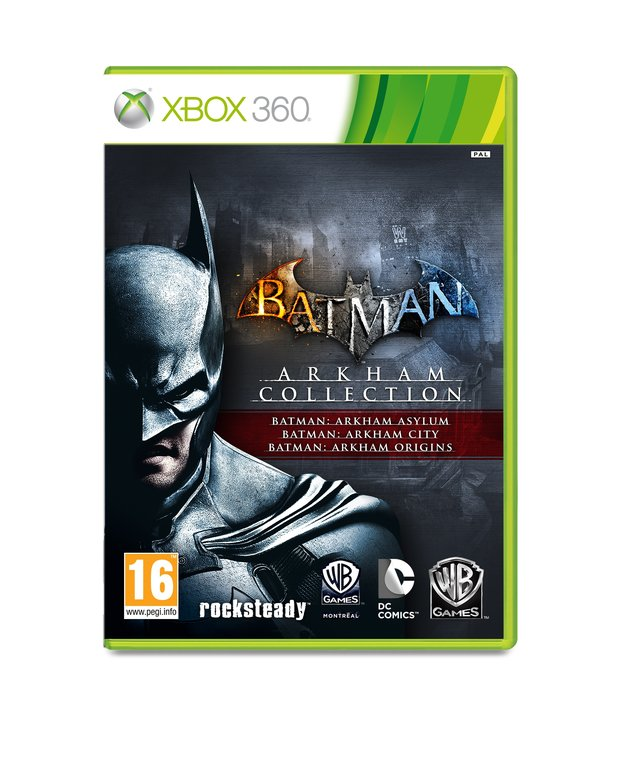 Der Packshot von der Batman: Arkham Collection.