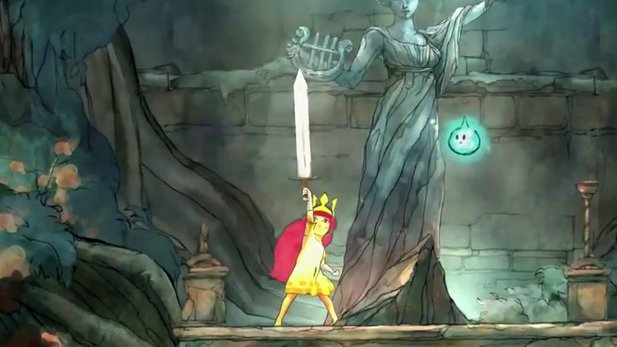 Child of Light - 17 Minuten Gameplay aus dem Märchen-RPG