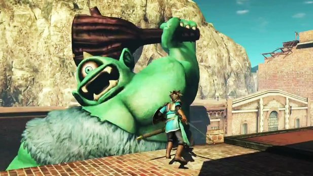 Dragon Quest Heroes - Ankündigungs-Trailer zum PlayStation-4-Titel