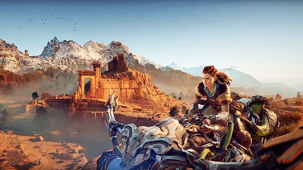 Horizon: Zero Dawn - Launch Trailer zeigt die Weiten der Post-Postapokalypse