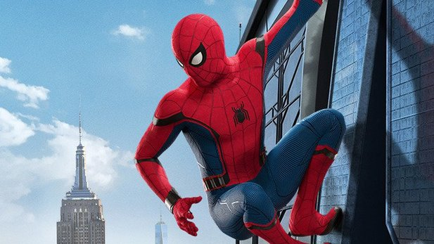 Tom Holland als Superheld in Spider-Man: Homecoming.