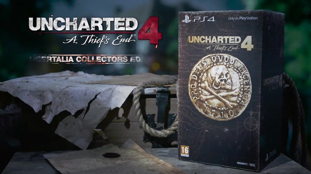 Uncharted 4: A Thief's End - Trailer: Das steckt in der Collector's Edition