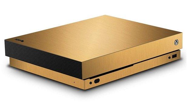xbox one x microsoft verlost mit echtem gold berzogene. Black Bedroom Furniture Sets. Home Design Ideas