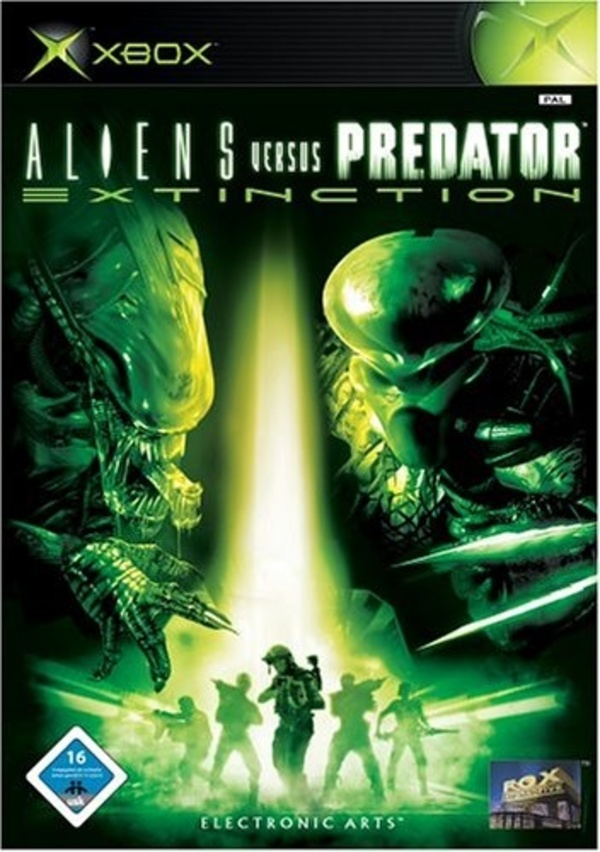 Cover zu Aliens vs. Predator Extinction