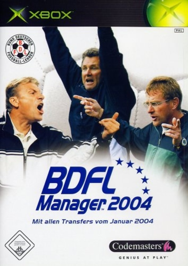 Cover zu BDFL Manager 2004