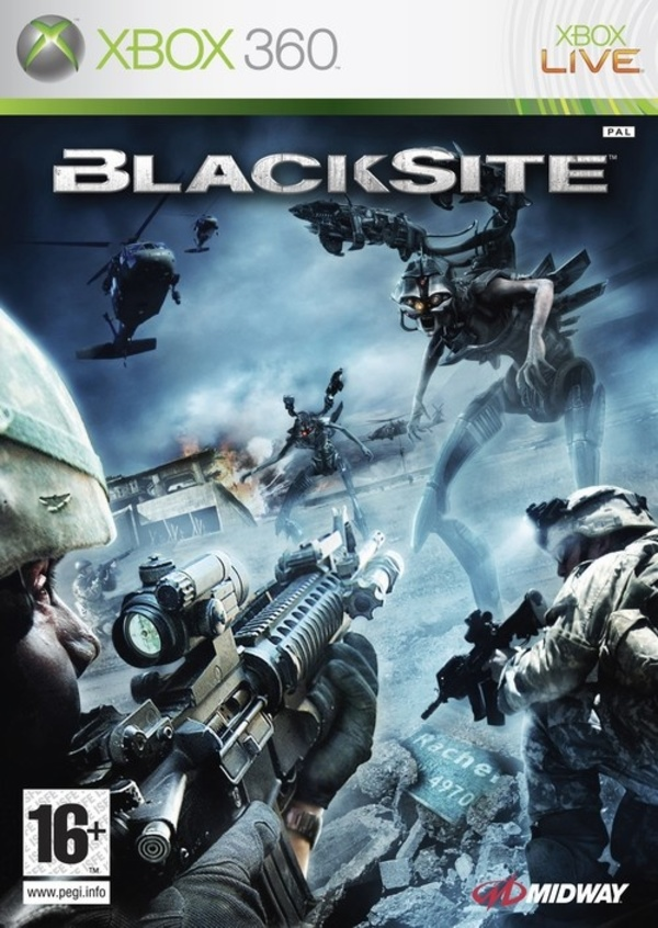 Cover zu Blacksite