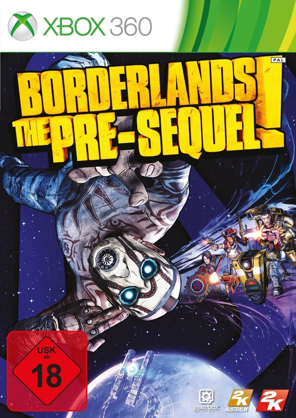 Cover zu Borderlands: The Pre-Sequel