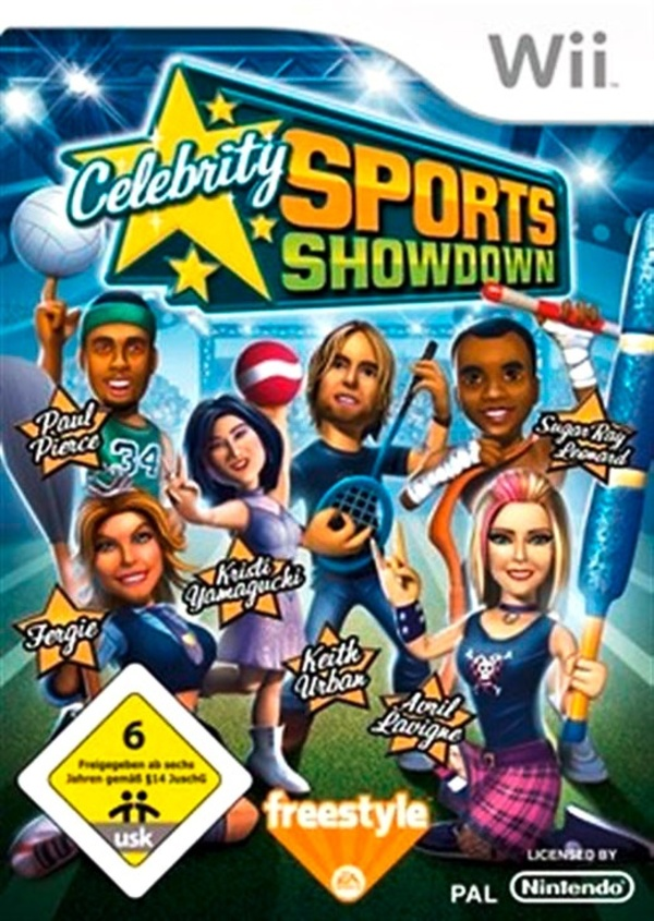 Cover zu Celebrity Sports Showdown
