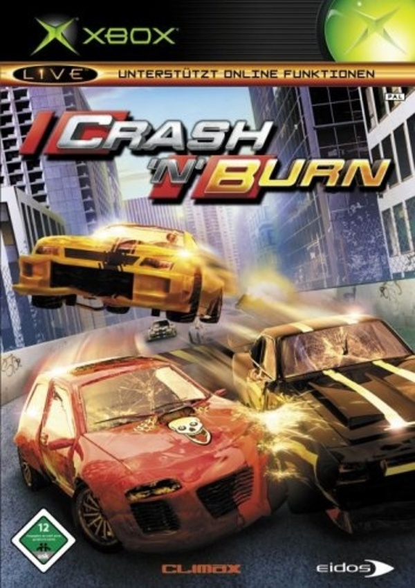 Cover zu Crash 'n' Burn