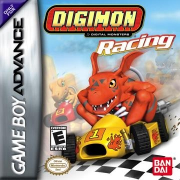 Cover zu Digimon Racing