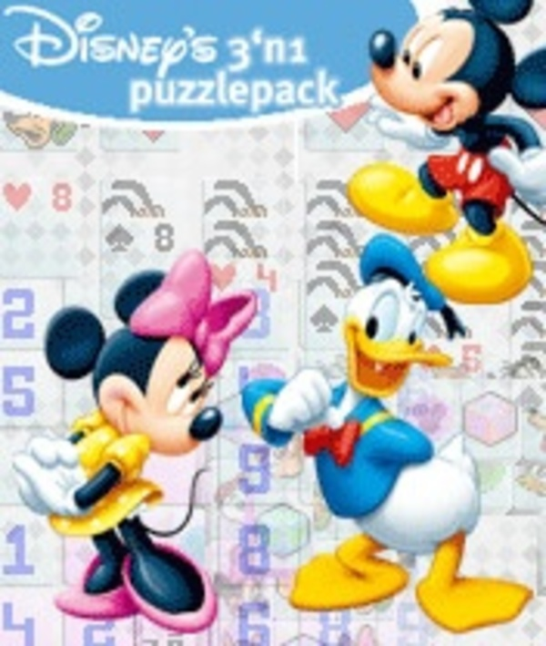 Cover zu Disneys 3 in 1 Puzzle Pack
