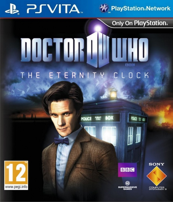 Cover zu Doctor Who: The Eternity Clock